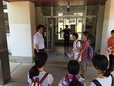 鹿島中学校を訪問(南相馬市)9