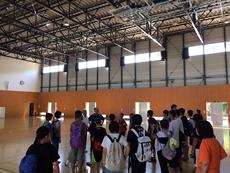 鹿島中学校を訪問(南相馬市)6